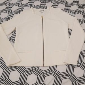 Forever 21 Off White Sweater Jacket